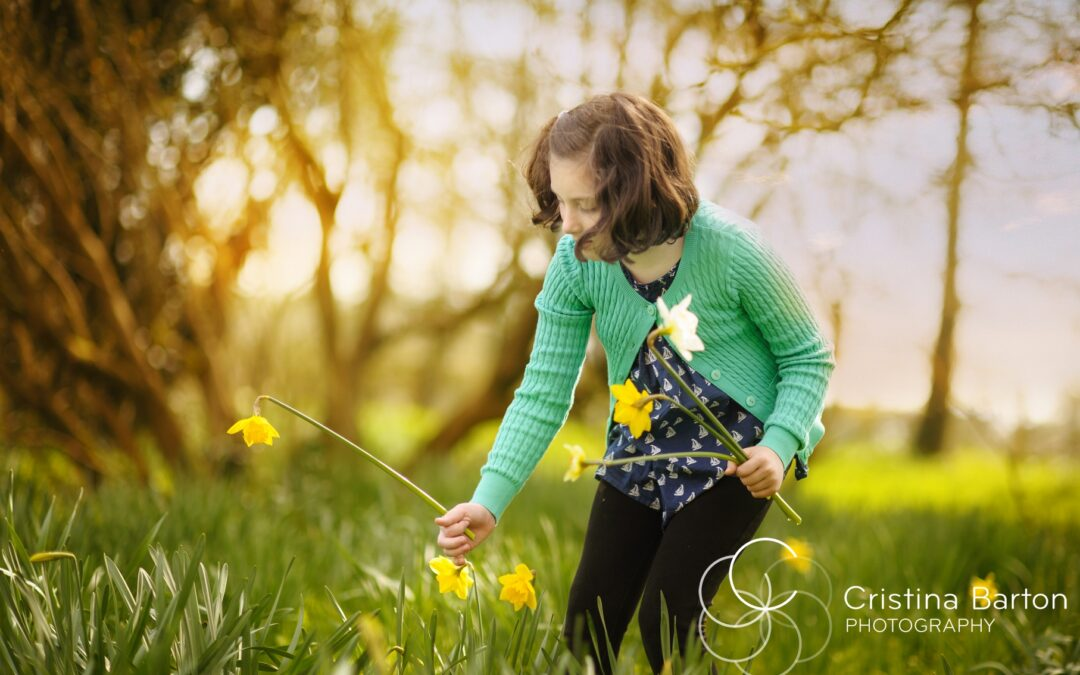 Springtime! Daffodils Open Day – Hampshire Spring Location Family Photo Session