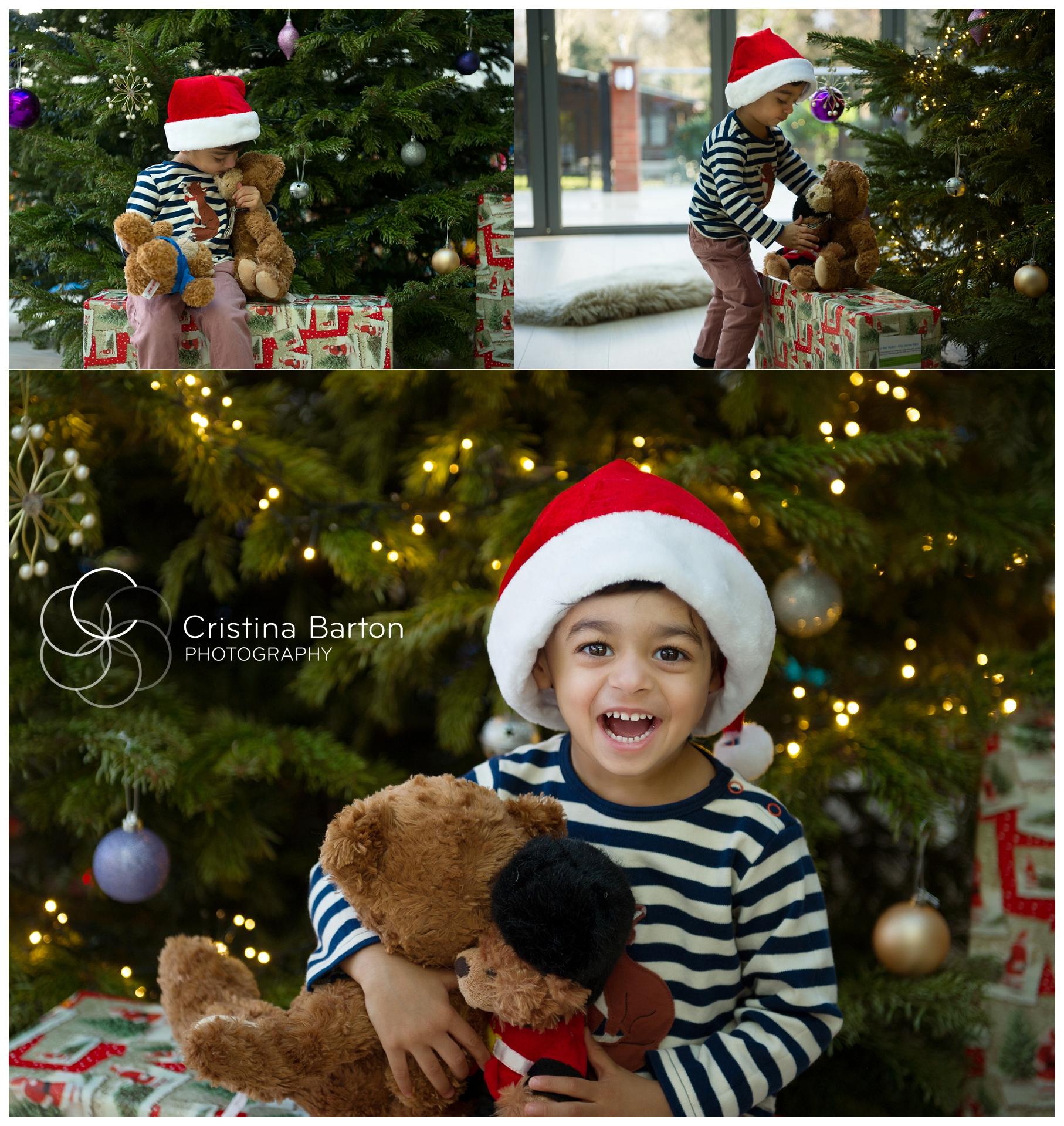 Christmas children's photo shoots London