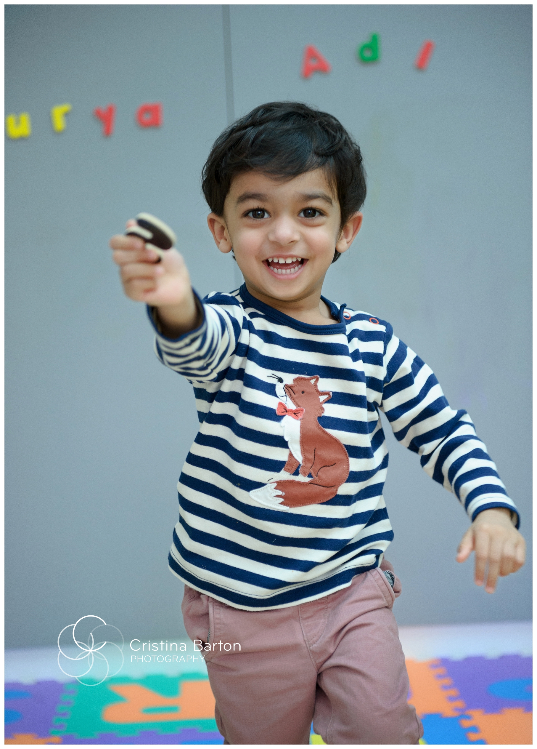 Natural children's photography in London