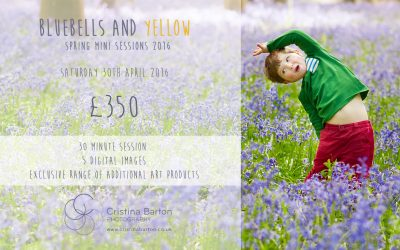 Bluebells and Yellow Mini Sessions 2016