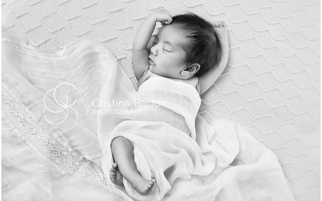 Home newborn portraits London Mayfair