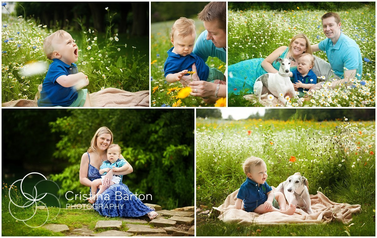 Wildflower family photoshoot in Ascot and Windsor
