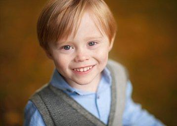 close up portrait of child