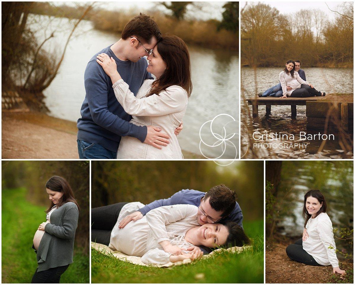 maternity photo shoot in Reading
