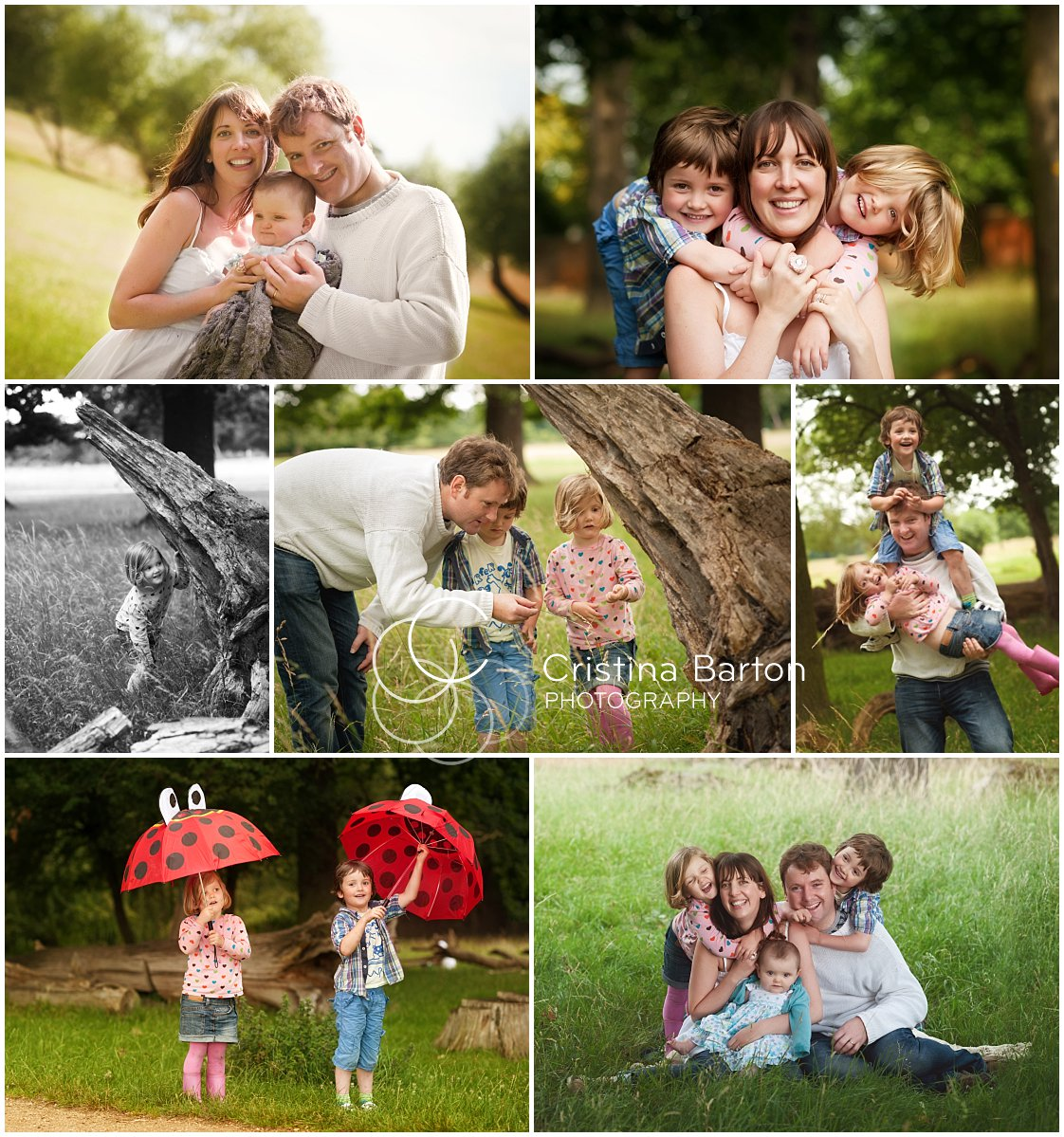 family photography in Richmond Park
