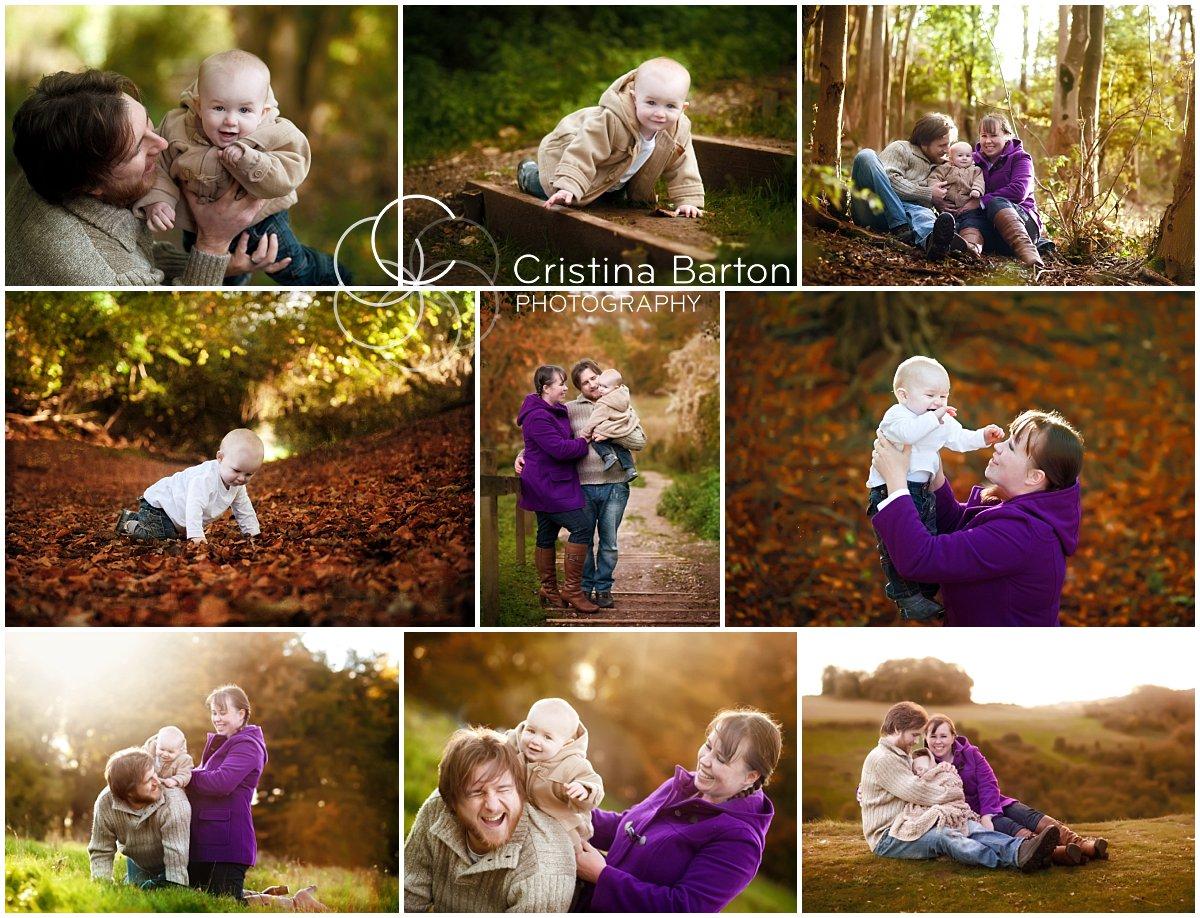 Family photography at St Catherine's Hill, Winchester