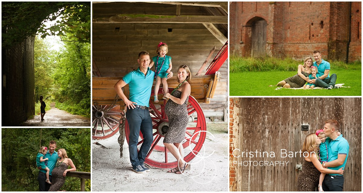 A maternity and family photo session at Basing House, Basingstoke, Hampshire.