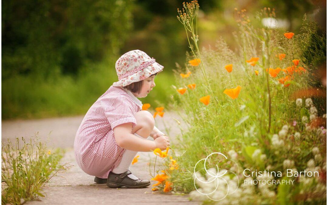 Children's Portrait Photography Reading