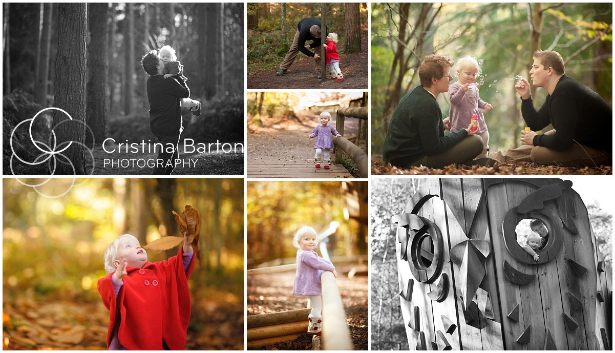 Images from a toddler and family photo session at Alice Holt Forest, Farnham.
