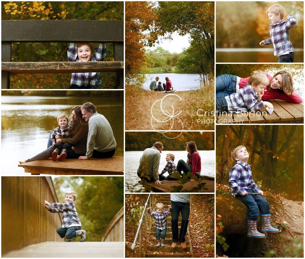 family autumn photo shoot Reading Berkshire