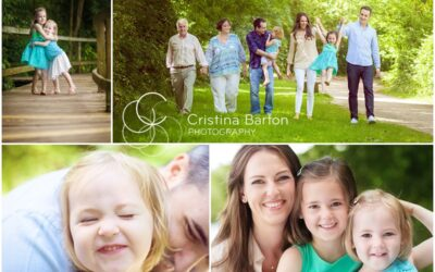 A Summer Family Photo Shoot in Reading