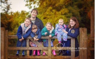 Autumn Family Portraits Farnham