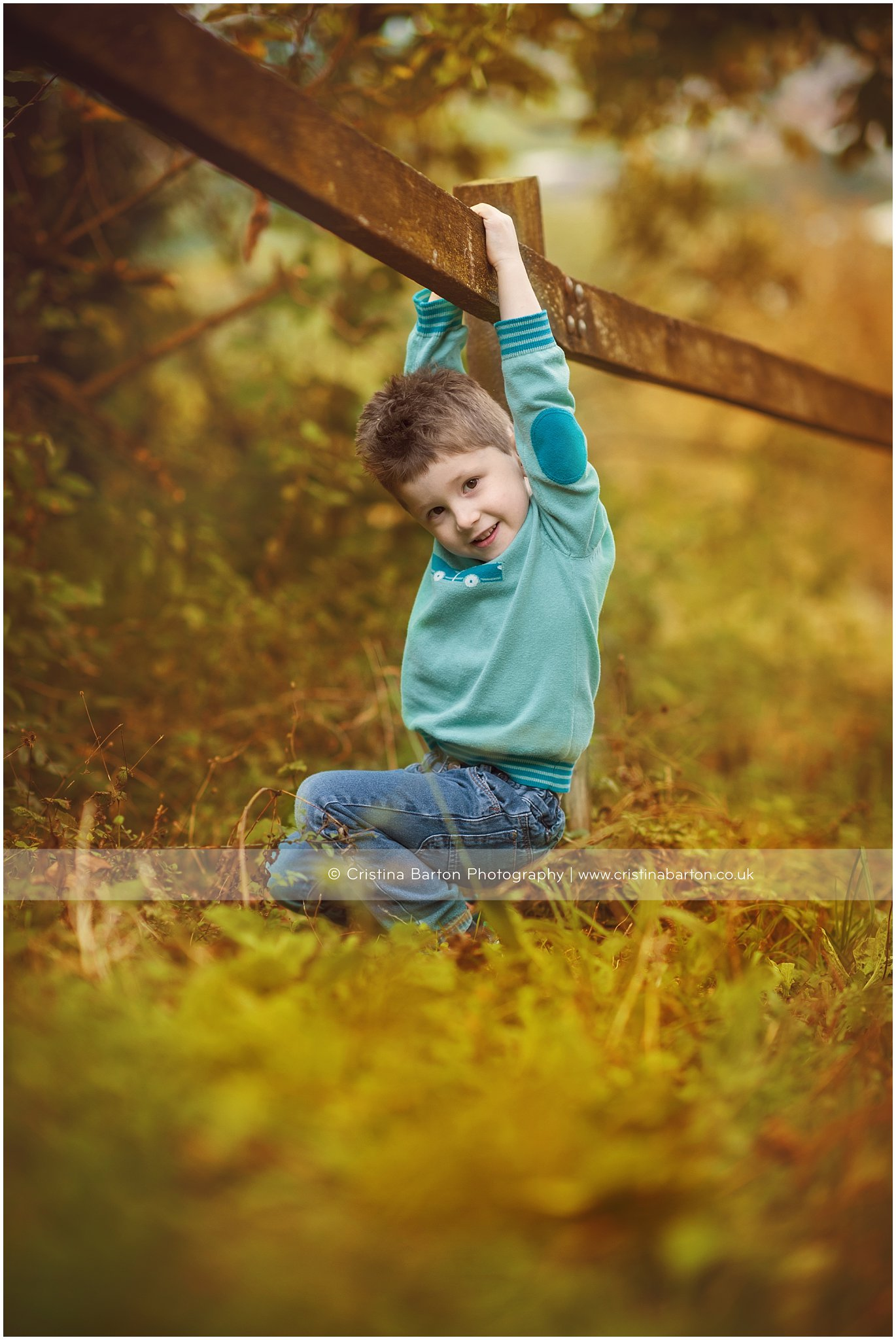 children's photo session autumn