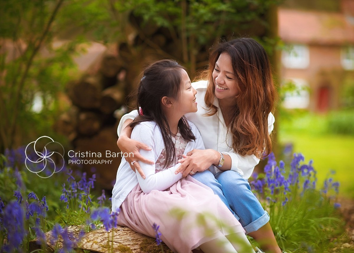 mother and daughter portrait basingstoke