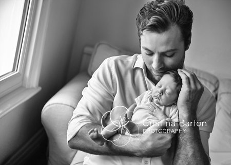 Lifestyle Newborn Photography At Home – Annabelle