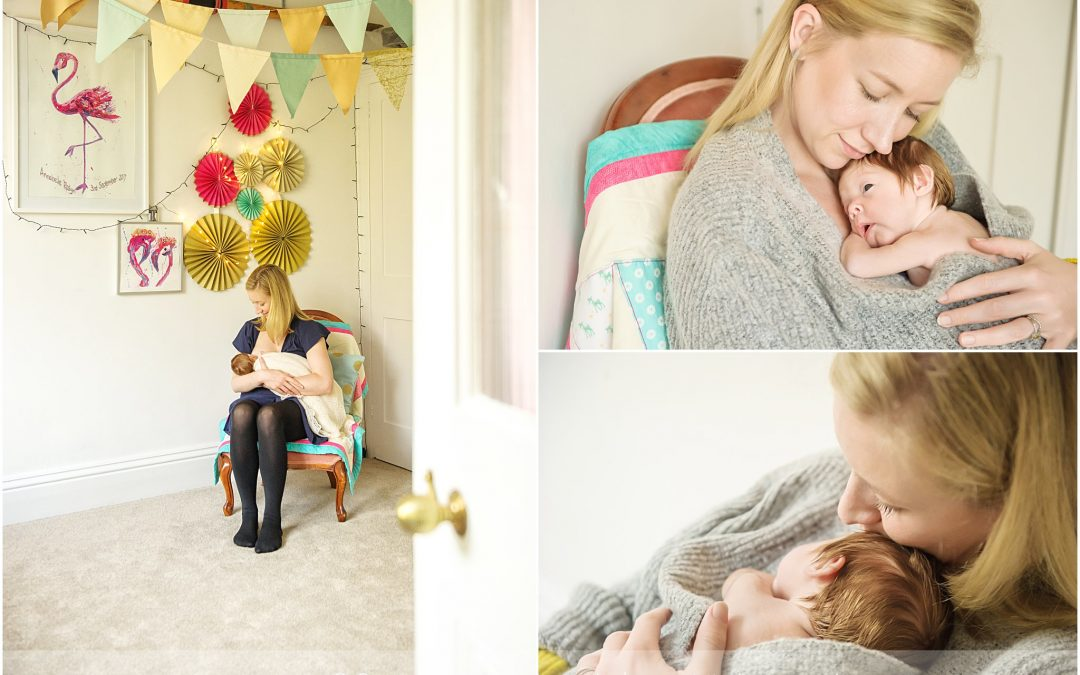 Newborn Session at Home  Hampshire Baby Photography