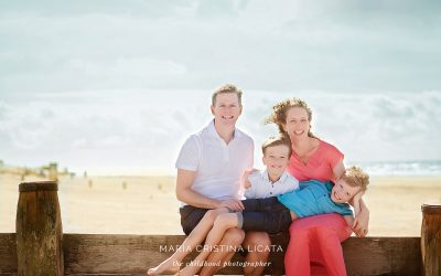 Beach Family Photo Session  at West Wittering