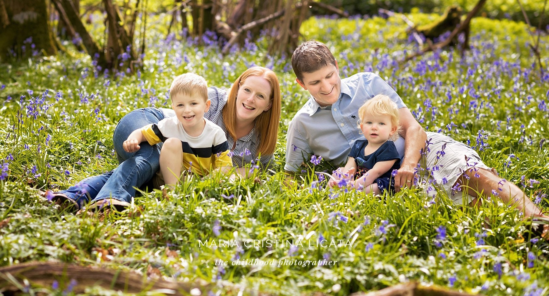 bluebells family portraits winchester