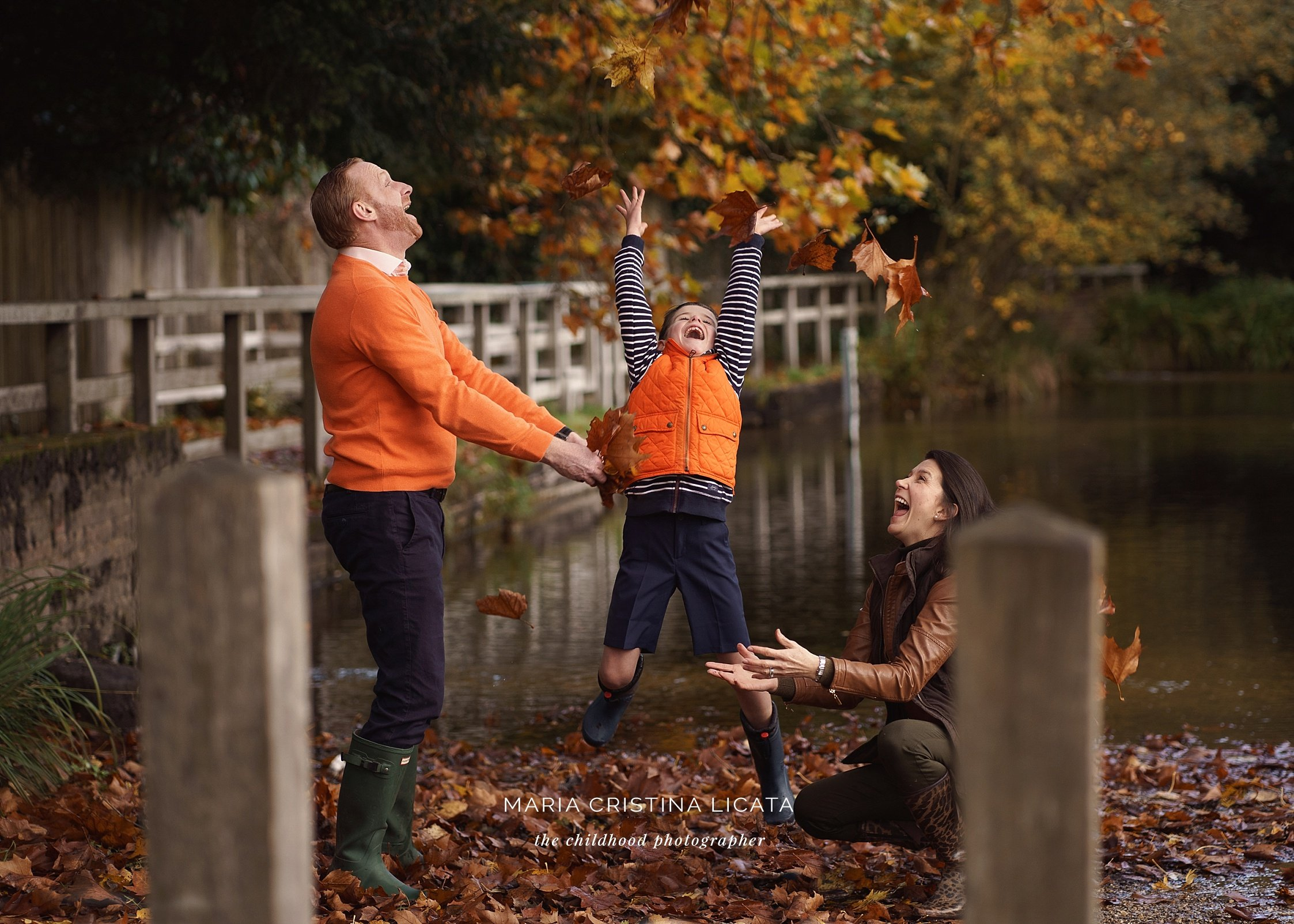 autumn family portraits basingstoke