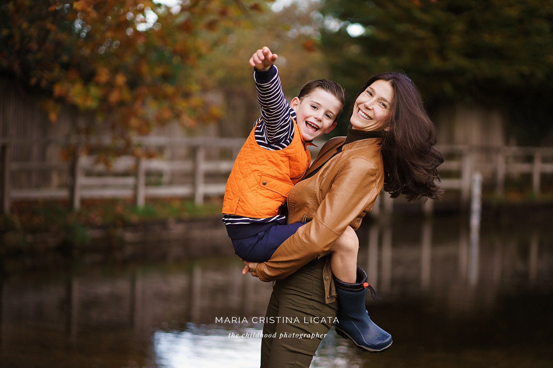 autumn family photo shoot basingstoke