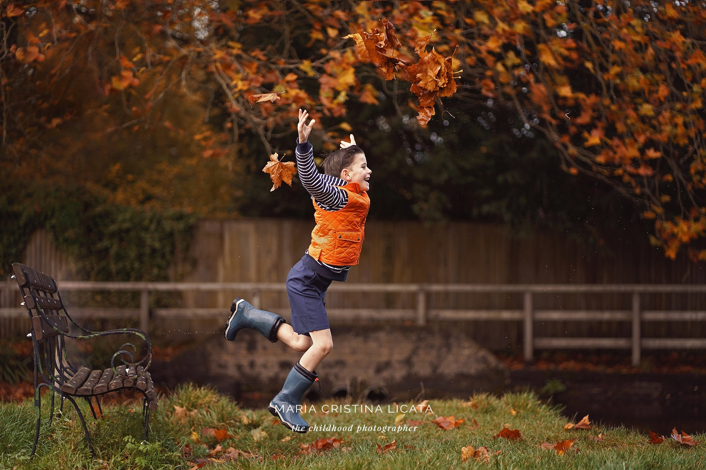 autumn family photography winchester