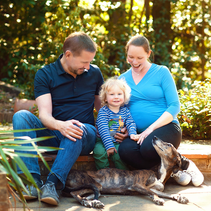 family portraits in hampshire